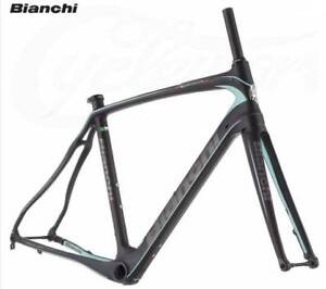 2018 Bianchi Infinito CV Disc Frameset (Black) rrp$5199 Concord West Canada Bay Area Preview