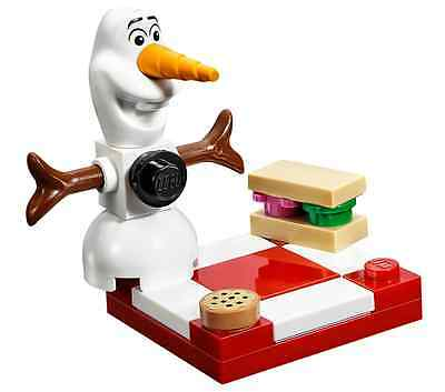 LEGO Disney FROZEN Sparkling Ice Castle 41062 OLAF MINIFIG snowman Picnic NEW
