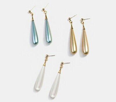 Faux Pearl Bridal Earrings (2.2