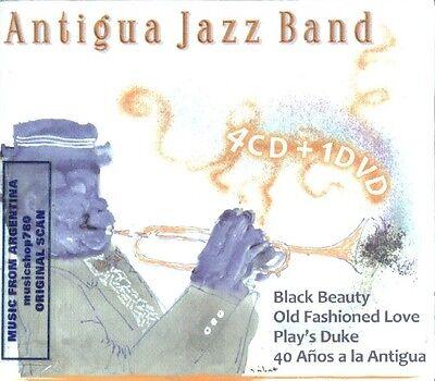 4 CD + DVD SET ANTIGUA JAZZ BAND BLACK BEAUTY OLD FASHIONED PLAYS DUKE 40 AÑOS