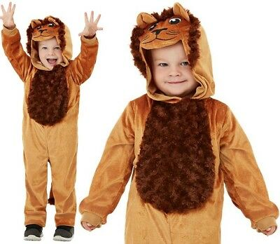 Baby & Toddler Lion Fancy Dress Costume Childrens Childs Big Cat Suit by Smiffys - Lion Catsuit