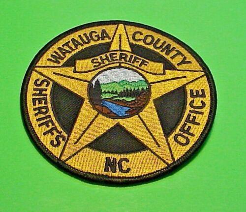 "WATAUGA COUNTY  NORTH CAROLINA  NC  SHERIFF 4"" POLICE PATCH  FREE SHIPPING!!!"