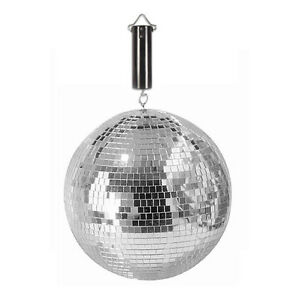 boule a facettes 20 cm jeux de lumiere moteur piles boule disco ebay. Black Bedroom Furniture Sets. Home Design Ideas