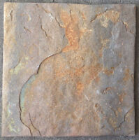 SALE!! 12x12 Hi Tech Brown Porcelain Tile - Slate Look $1.25sf!