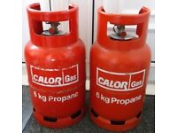 FULL CALOR GAS BOTTLE STEEL 6KG x 2 Gas Bottles Only £70.00 DELIVERED