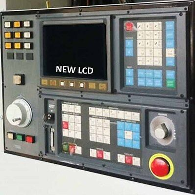 Lcd Monitor Upgrade For 9-inch Cincinnati Milacron Sabre 750 With Cable Kit