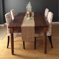 Pier one harvest table/ dining table