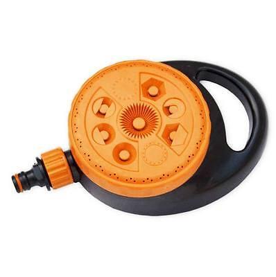 8 Sprinkler (8-Funktionen Rasensprenger Sprinkler Regner Bewässerung Impulsregner Kreisregner)