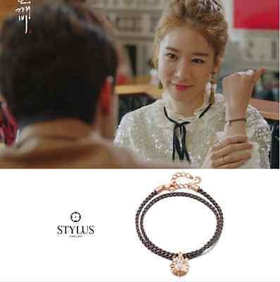 """STYLUS JEWELRY Silver bracelet """"DOKEBI"""" Korea Drama Gong Yu Yu InNa Sliver925"""