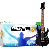 LOOKING FOR GUITAR HERO LIVE WITH GUITAR XBOX 360