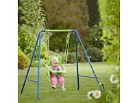 Small Wonders Toddler Swing with Booster Seat