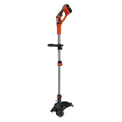 Black&Decker 40 Volt Electric Cordless Straight Shaft String Trimmer Edger Grass