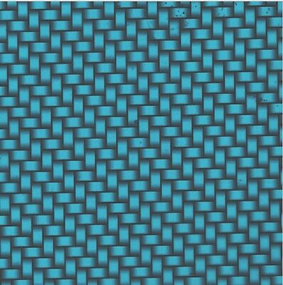 Hydro Dip Water Transfer Hydrographic Film Carbon Fiber Metallic Blue 1m