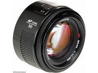 Minolta 50mm 1.7 af lens for Sony Amount