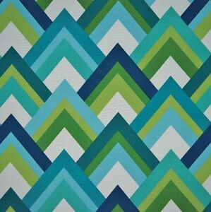 Outdoor/ Indoor ~ Upholstery ~ Retro Geometric ~ Fabric ~ per 1/4 yard