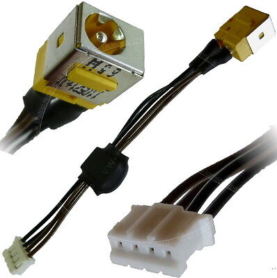 ACER aspire 5715 5715z DC Jack Power Socket 4 Pin Cable Connector...