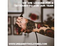 TATTOO ARTIST REQUIRED to work in central Norwich location