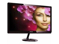 "Philips 203V5LSB26/10 19.5"" LED 1600x900 VGA Black Monitor"