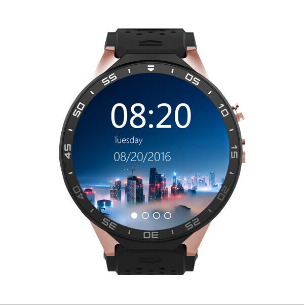 KW88 Bluetooth 4.0 GPS 3G WIFI Smart Watch Remote Camera 4GB for Android samsung