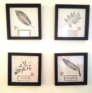 Decorative art work - Price is for all four pieces