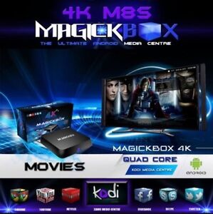 Magic Box X8 4K S812 QUAD CORE FULL YEAR WARRANTY!!