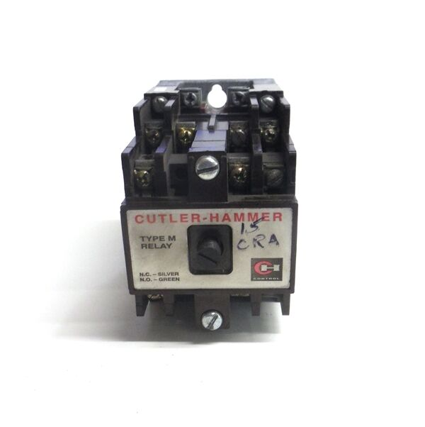 Cutler Hammer Ty Pe M Relay Base Assmebly, D26mb, Type M Relay Accesory, D26md