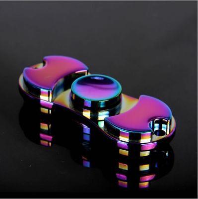 EDC Hand Fidget Spinner Aluminum Bearing Desk Toy Gyro For Kids Adult Focus US