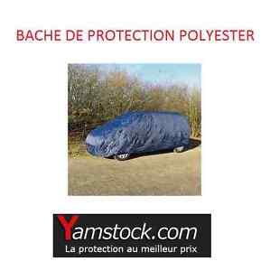 bache de protection voiture monospace 4x4 polyester l 474