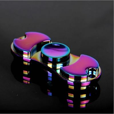 EDC Hand Fidget Spinner Aluminum Bearing  Desk Toy Gyro For Kids Adult Focus US