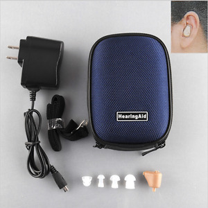 Rechargeable Hearing Aid Sound Amplifier Tone Volume Adjustable