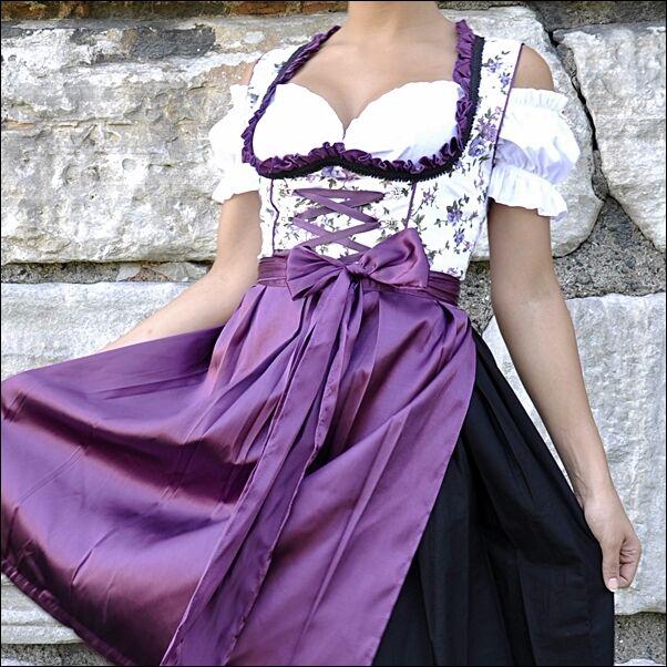 042.  Oktoberfest Dirndl German Austrian Dress Sizes: 4.6.8.10.12.14.16.18.20.22