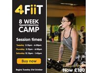Fitness Transformation Camp