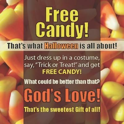 Halloween Gospel Tract For Children - Origami Design Engages Kids  24/pack - Gospel Tracts For Halloween