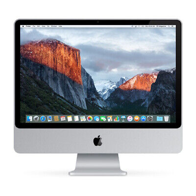 "Apple iMac 20"" C2D 2.4Ghz / 240GB SSD / 6GB / DVD / WARRANTY / Grade B ref CH21"