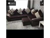 Couch, chair and footrest for sale