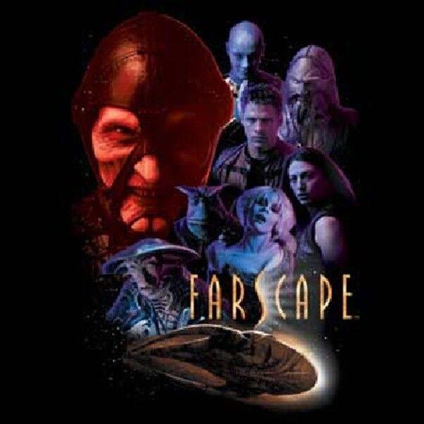 Farscape TV Series Cast Criminally Epic Large T-Shirt, NEW UNWORN