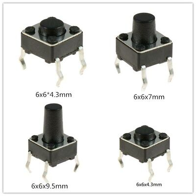 6x6mm Momentary Tactile Mini Miniature Push Button Switch Pcb Mounted Spst