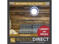 Rustic Direct - Reclaimed Pallet Boards - Lowest UK Prices - Free UK Delivery - Buy Online