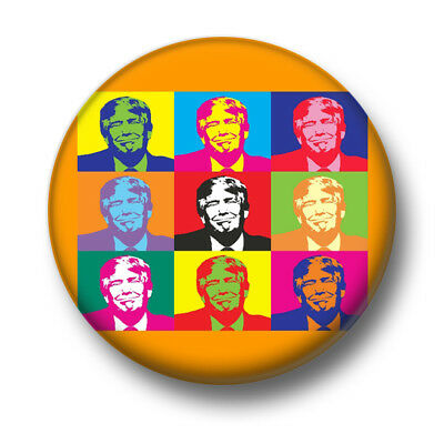 Trump Pop Art 1 Inch / 25mm Pin Button Badge The Donald President Republican USA
