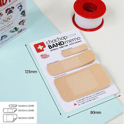 1pc Bandaid Sticker Post It Sticky Tab Note Pad Memo Bookmark Index Flag on Rummage