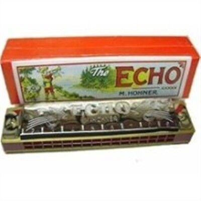 SALE! Hohner 16 Hole Echo Tremolo Harmonica in C Model 8362 COMPARE AT $25.99!