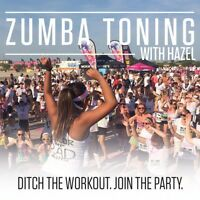 ZUMBA TONING WITH HAZEL *first class free*