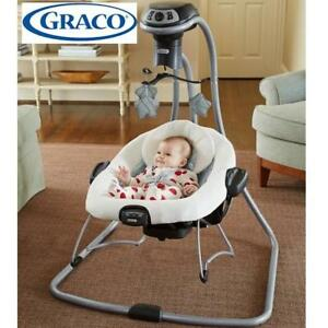 NEW GRACO SWING  PORTABLE BOUNCER 2013553 230629592 DUETCONNECT LX MULTI DIRECTION ASHER