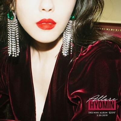 T-ARA HYOMIN [ALLURE] 3rd Mini Album CD+Photo Book+Post Card K-POP SEALED, used for sale  Shipping to United States