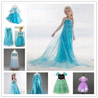 Kinder Mädchen Kleider Kostüm Prinzessin Party Halloween Geburtstag Kostüm (Halloween Kleider Für Mädchen)