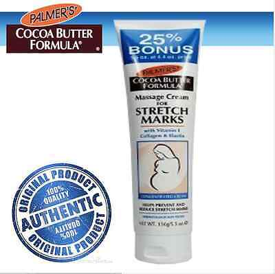 Cocoa Butter Formula Concentrated Cream (Palmers Cocoa Butter Formula Massage Cream for Stretch Marks Concentrated 125g)