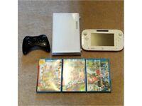 8GB Nintendo Wii U + Wii U Pro Controller + 3 Games