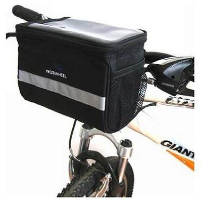 Borsa H81 per manubrio impermeabile bicicletta custodia per Galaxy S8 e S8 Plus