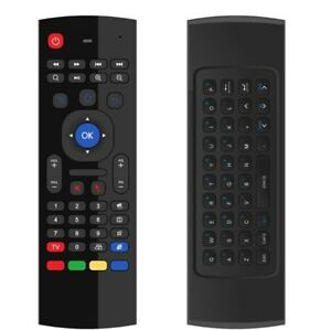 ANDROID TV BOX QWERTY KEYBOARD REMOTE / AIR MOUSE.