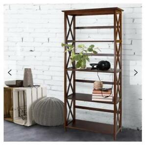 For Sale, a Brand New......... WAYFAIR, Three Posts Hitz Etagere Bookcase...$90